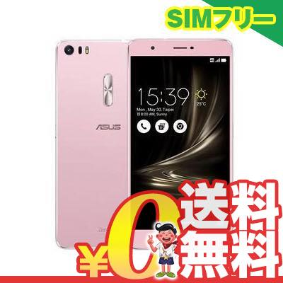 新品 未使用 ASUS ZenFone3 Ultra Dual SIM ZU680KL 64GB Rose Gold【海外版】 SIMフリー スマホ 本体 送料無料【当社6ヶ月保証】【中古】 【 携帯少年 】
