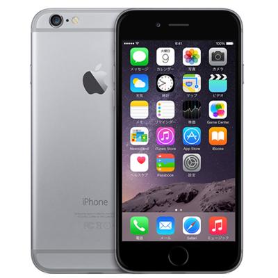 中古 iPhone6 128GB A1586(MG4A2J/A) スペースグレイ au スマホ 白ロム 本体 送料無料【当社3ヶ月間保証】【中古】 【 携帯少年 】