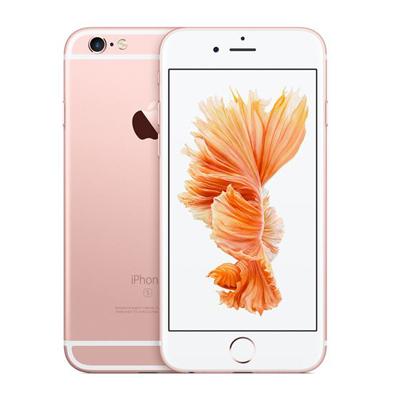 中古 【SIMロック解除済】iPhone6s 16GB A1688 (MKQM2J/A) ローズゴールド au スマホ 白ロム 本体 送料無料【当社3ヶ月間保証】【中古】 【 携帯少年 】