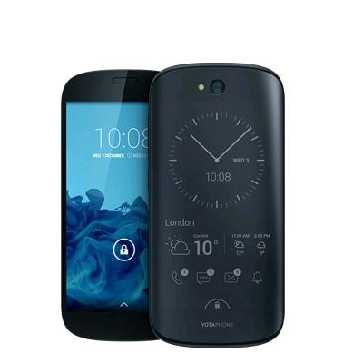 中古 YOTAPHONE 2 (YD201) LTE [Black 32GB 海外版] SIMフリー スマホ 本体 送料無料【当社3ヶ月間保証】【中古】 【 携帯少年 】