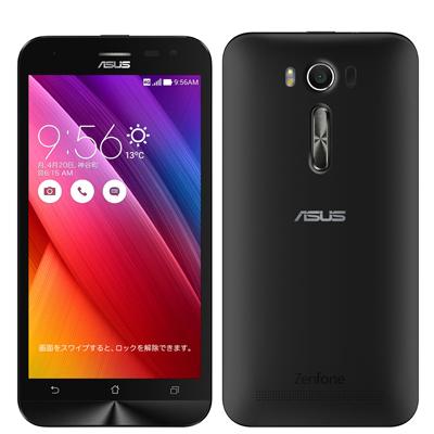 中古 ASUS ZenFone2 Laser ZE500KL-BK16 ブラック【RAM2GB/ROM16GB/版】 SIMフリー スマホ 本体 送料無料【当社3ヶ月間保証】【中古】 【 携帯少年 】