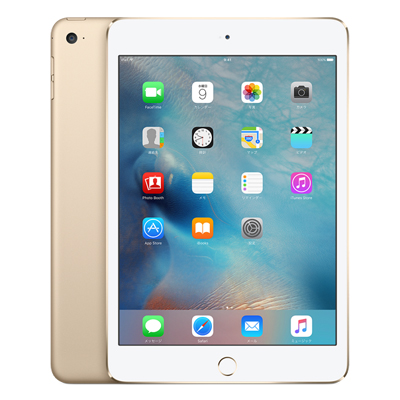 中古 【SIMロック解除済】iPad mini4 Wi-Fi Cellular (MK782J/A) 128GB ゴールド docomo 7.9インチ タブレット 本体 送料無料【当社3ヶ月間保証】【中古】 【 携帯少年 】