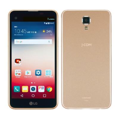 中古 LG X screen LGS02 Chanpaign gold [J:COMモデル] SIMフリー スマホ 本体 送料無料【当社3ヶ月間保証】【中古】 【 携帯少年 】