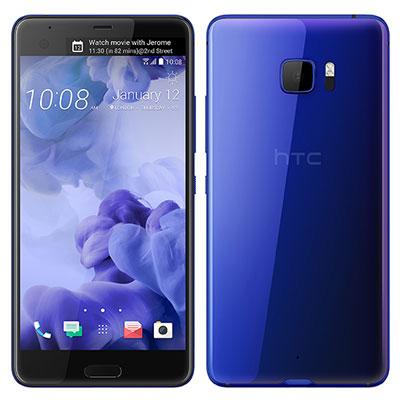 中古 HTC U Ultra Dual-SIM Sapphire Blue 64GB [海外版] SIMフリー スマホ 本体 送料無料【当社3ヶ月間保証】【中古】 【 携帯少年 】