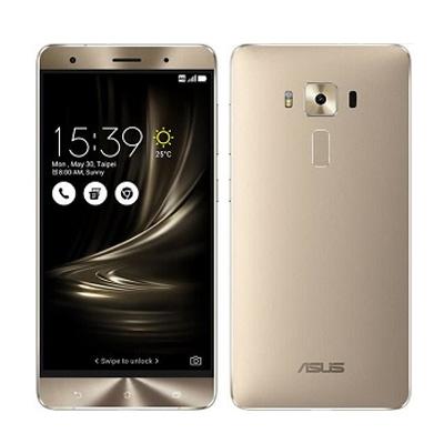 中古 ASUS ZenFone3 Deluxe Dual ZS570KL 256GB Gold 【国内版】 SIMフリー スマホ 本体 送料無料【当社3ヶ月間保証】【中古】 【 携帯少年 】