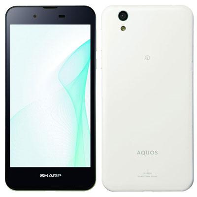 中古 AQUOS SH-M04 White SIMフリー スマホ 本体 送料無料【当社3ヶ月間保証】【中古】 【 携帯少年 】