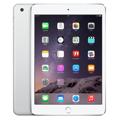 中古 iPad mini3 Wi-Fi Cellular (MGJ12J/A) 64GB シルバー au 7.9インチ タブレット 本体 送料無料【当社3ヶ月間保証】【中古】 【 携帯少年 】