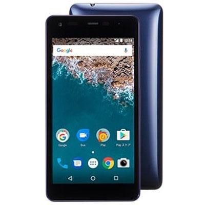 新品 未使用 Android One S2 ネイビー Y!mobile スマホ 白ロム 本体 送料無料【当社6ヶ月保証】【中古】 【 携帯少年 】