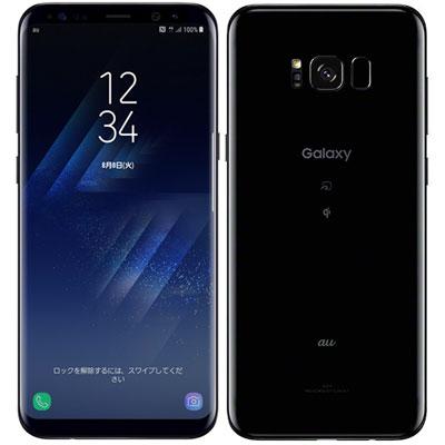 中古 SAMSUNG Galaxy S8+ SCV35 Midnight Black au スマホ 白ロム 本体 送料無料【当社3ヶ月間保証】【中古】 【 携帯少年 】