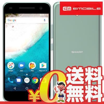 新品 未使用 Android One S1 604SH ターコイズ EMOBILE スマホ 白ロム 本体 送料無料【当社6ヶ月保証】【中古】 【 携帯少年 】