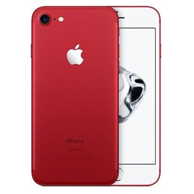 中古 【SIMロック解除済】iPhone7 128GB A1779 (MPRX2J/A) レッド au スマホ 白ロム 本体 送料無料【当社3ヶ月間保証】【中古】 【 携帯少年 】