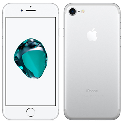 中古 【SIMロック解除済】iPhone7 128GB A1779 (MNCL2J/A) シルバー au スマホ 白ロム 本体 送料無料【当社3ヶ月間保証】【中古】 【 携帯少年 】