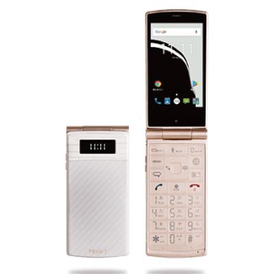 新品 未使用 P-UP Mode1 RETRO (MD-02P) White 【国内版】 SIMフリー ガラケー 本体 【当社6ヶ月保証】 【 携帯少年 】