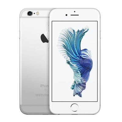 中古 【SIMロック解除済】iPhone6s 128GB A1688 (MKQU2J/A) シルバー au スマホ 白ロム 本体 送料無料【当社3ヶ月間保証】【中古】 【 携帯少年 】
