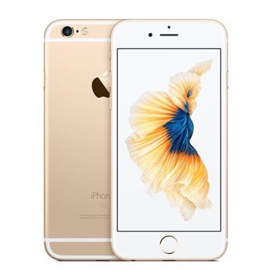 iPhone 【中古】 送料無料 au Apple MG4J2J/ 延長保証 iPhone6 64GB ネットワーク永久保証 Bランク A ゴールド 本体