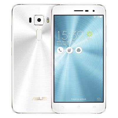 中古 ASUS ZenFone3 5.2 Dual SIM ZE520KL-1B053TW White 【4GBRAM 64GBROM 海外版】 SIMフリー スマホ 本体 送料無料【当社3ヶ月間保証】【中古】 【 携帯少年 】