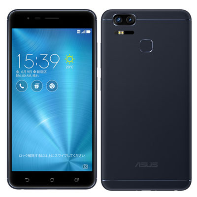 中古 ASUS ZenFone Zoom S ZE553KL Navy Black 【64GB 国内版】 SIMフリー スマホ 本体 送料無料【当社3ヶ月間保証】【中古】 【 携帯少年 】