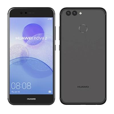中古 Huawei nova2 PIC-LX9(HWU33SKU) Graphite Black【UQ版】 SIMフリー スマホ 本体 送料無料【当社3ヶ月間保証】【中古】 【 携帯少年 】