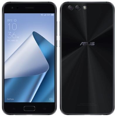 中古 ASUS Zenfone4 Dual-SIM ZE554KL-BK64S6 64GB RAM6GB Midnight Black【国内版】 SIMフリー スマホ 本体 送料無料【当社3ヶ月間保証】【中古】 【 携帯少年 】