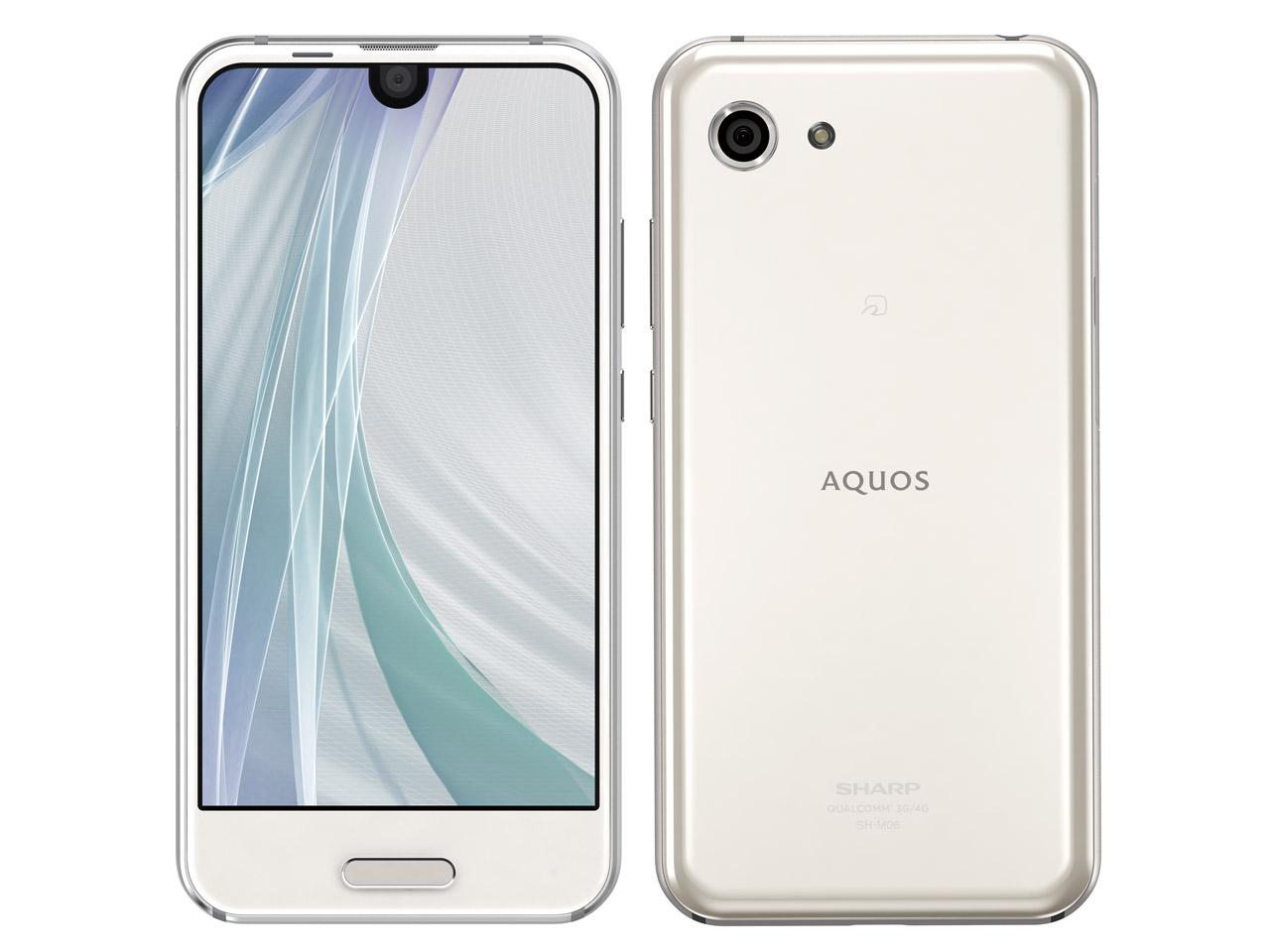 中古 AQUOS R compact SH-M06 White SIMフリー スマホ 本体 送料無料【当社3ヶ月間保証】【中古】 【 携帯少年 】