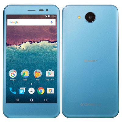 中古 【SIMロック解除済】Android One 507SH スモーキーブルー Y!mobile スマホ 白ロム 本体 送料無料【当社3ヶ月間保証】【中古】 【 携帯少年 】