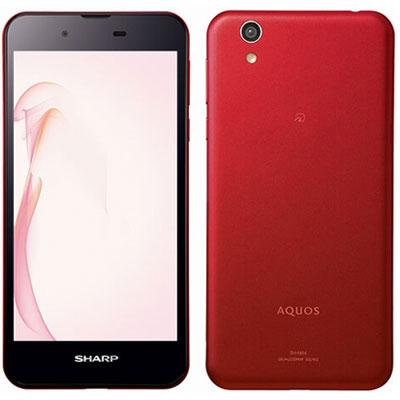 中古 AQUOS SH-M04 Red 【版】 SIMフリー スマホ 本体 送料無料【当社3ヶ月間保証】【中古】 【 携帯少年 】