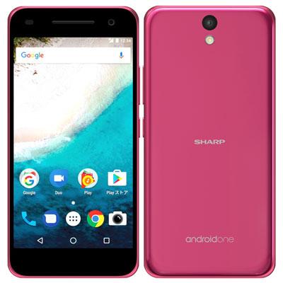 新品 未使用 Android One S1 ピンク EMOBILE スマホ 白ロム 本体 送料無料【当社6ヶ月保証】【中古】 【 携帯少年 】