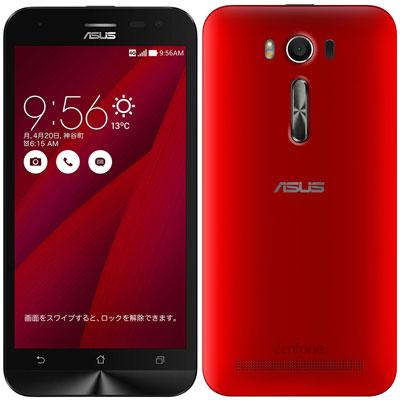 中古 ASUS ZenFone2 Laser ZE500KL-RD16 レッド 【RAM2GB/国内版】 SIMフリー スマホ 本体 送料無料【当社3ヶ月間保証】【中古】 【 携帯少年 】