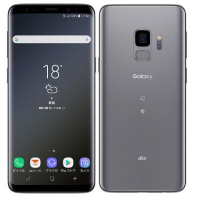 新品 未使用 【SIMロック解除済】Galaxy S9 SCV38 Titanium Gray au スマホ 白ロム 本体 送料無料【当社6ヶ月保証】【中古】 【 携帯少年 】