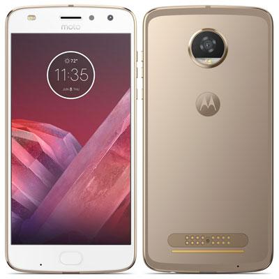 中古 Motorola Moto Z2 Play XT1710-08 Fine Gold [中国版] SIMフリー スマホ 本体 送料無料【当社3ヶ月間保証】【中古】 【 携帯少年 】