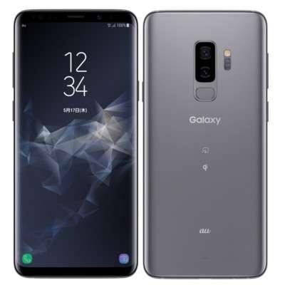 中古 【SIMロック解除済】Galaxy S9+ SCV39 Titanium Gray au スマホ 白ロム 本体 送料無料【当社3ヶ月間保証】【中古】 【 携帯少年 】