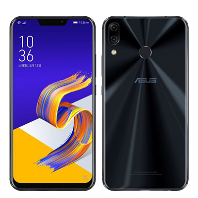 中古 ASUS Zenfone5 (2018) Dual-SIM ZE620KL【シャイニーブラック 64GB 国内版】 SIMフリー スマホ 本体 送料無料【当社3ヶ月間保証】【中古】 【 携帯少年 】