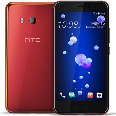 中古 HTC U11 EYEs Dual SIM [Red 64GB 海外版] SIMフリー スマホ 本体 送料無料【当社3ヶ月間保証】【中古】 【 携帯少年 】