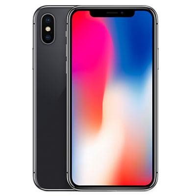 中古 iPhoneX 64GB A1902 (MQAX2J/A) スペースグレイ docomo スマホ 白ロム 本体 送料無料【当社3ヶ月間保証】【中古】 【 携帯少年 】