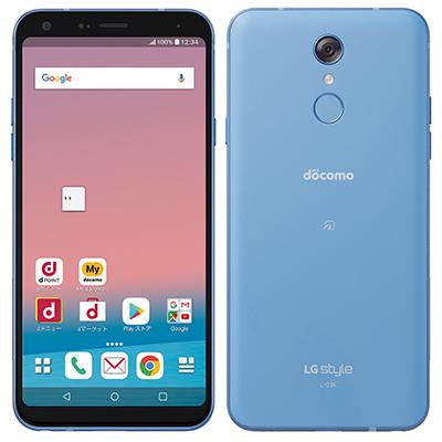 新品 未使用 【SIMロック解除済】LG style L-03K Blue docomo スマホ 白ロム 本体 送料無料【当社6ヶ月保証】【中古】 【 携帯少年 】