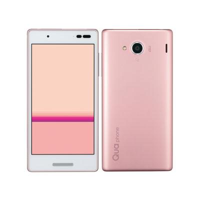 中古 Qua phone QX KYV42 ピンク au スマホ 白ロム 本体 送料無料【当社3ヶ月間保証】【中古】 【 携帯少年 】