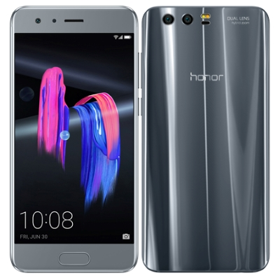 中古 Huawei Honor9 STF-L09 Glacier Grey【国内版】 SIMフリー スマホ 本体 送料無料【当社3ヶ月間保証】【中古】 【 携帯少年 】