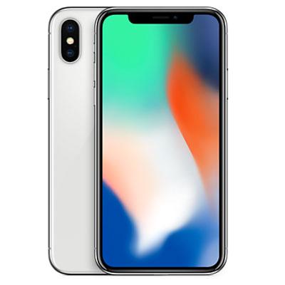中古 【SIMロック解除済】iPhoneX 64GB A1902 (MQAY2J/A) シルバー au スマホ 白ロム 本体 送料無料【当社3ヶ月間保証】【中古】 【 携帯少年 】