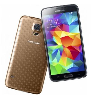 中古 Samsung GALAXY S5 DUOS LTE (SM-G900FD) 16GB Copper Gold【海外版】 SIMフリー スマホ 本体 送料無料【当社3ヶ月間保証】【中古】 【 携帯少年 】