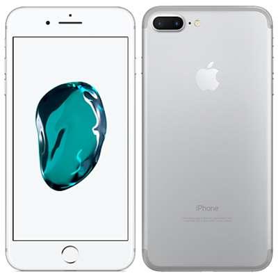 中古 【SIMロック解除済】iPhone7 Plus 128GB A1785 (MN6G2J/A) シルバー au スマホ 白ロム 本体 送料無料【当社3ヶ月間保証】【中古】 【 携帯少年 】