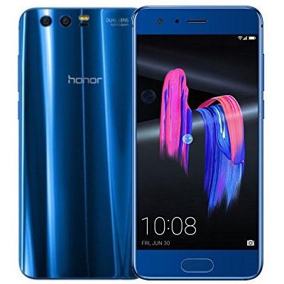 中古 Huawei Honor9 STF-L09 Sapphire Blue【版】 SIMフリー スマホ 本体 送料無料【当社3ヶ月間保証】【中古】 【 携帯少年 】