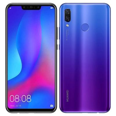 中古 Huawei nova3 PAR-LX9 Iris Purple【国内版】 SIMフリー スマホ 本体 送料無料【当社3ヶ月間保証】【中古】 【 携帯少年 】