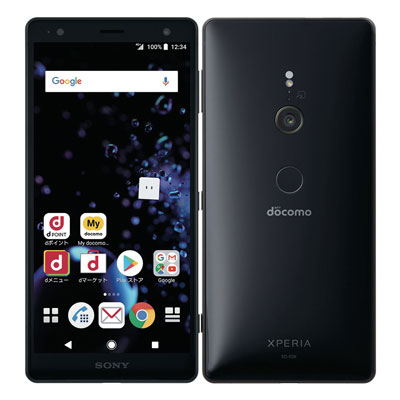 中古 【SIMロック解除済】Sony Xperia XZ2 SO-03K Liquid Black docomo スマホ 白ロム 本体 送料無料【当社3ヶ月間保証】【中古】 【 携帯少年 】