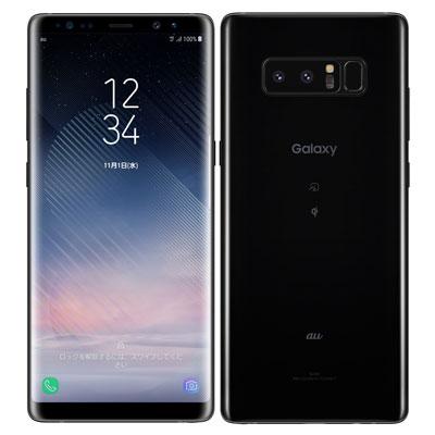 中古 【SIMロック解除済】Galaxy note8 SCV37 Midnight Black au スマホ 白ロム 本体 送料無料【当社3ヶ月間保証】【中古】 【 携帯少年 】