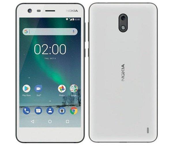 新品 未使用 Nokia 2 TA-1007 【Pewter White 8GB 海外版】 SIMフリー スマホ 本体 送料無料【当社6ヶ月保証】【中古】 【 携帯少年 】