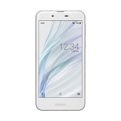 【送料無料】当社6ヶ月保証[未使用品]■SHARP UQ mobile AQUOS sense SHV40 Silky White【白ロム】【携帯電話】中古【中古】 【 携帯少年 】
