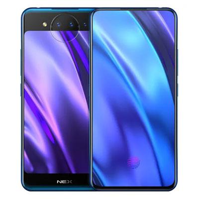 中古 Vivo NEX Dual Display Edition Dual-SIM V1821A 【Polar Blue 10GB 128GB 中国版】 SIMフリー スマホ 本体 送料無料【当社3ヶ月間保証】【中古】 【 携帯少年 】