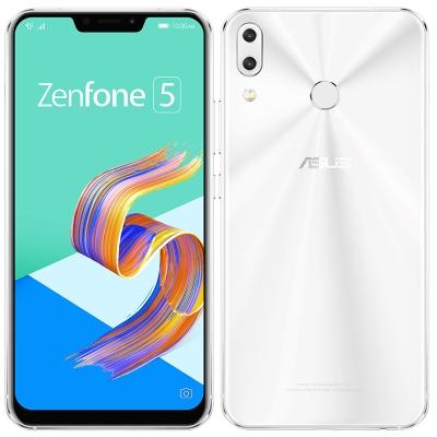 中古 ASUS Zenfone5 (2018) Dual-SIM ZE620KL【Moonlight White 64GB 国内版】 SIMフリー スマホ 本体 送料無料【当社3ヶ月間保証】【中古】 【 携帯少年 】