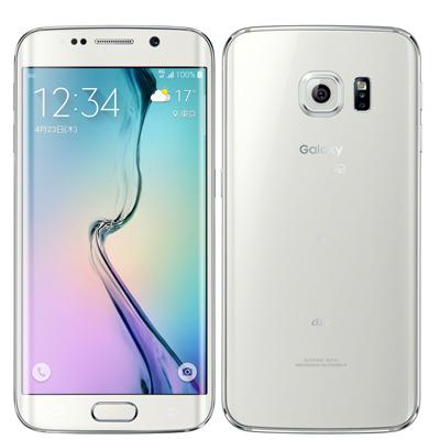 中古 【SIMロック解除済】Galaxy S6 edge SCV31 64GB White Pearl au スマホ 白ロム 本体 送料無料【当社3ヶ月間保証】【中古】 【 携帯少年 】