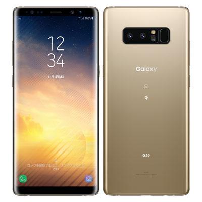 中古 【SIMロック解除済】Galaxy note8 SCV37 Maple Gold au スマホ 白ロム 本体 送料無料【当社3ヶ月間保証】【中古】 【 携帯少年 】